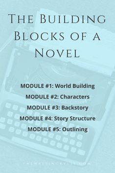 Build a story from the ground up by learning the basic building blocks of a novel. Here you'll learn how J.K. Rowling used building blocks like world building, character creation, story structure and much more to build the foundation for the Harry Potter series. You'll also learn how to adapt those techniques to fit your own story, no matter in what genre you write.