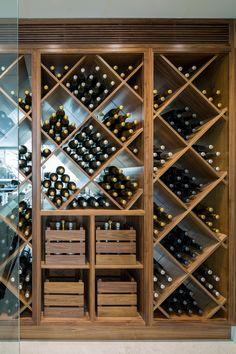 Chardonnay Boxed Wine, Bar Ideas - Wine Tasting South Of France, Cognac Coffee. Wine Shelves, Wine Storage, Spiral Wine Cellar, Wine Cellar Design, Wine Design, Home Wine Cellars, Basement Bar Designs, Basement Ideas, Wine House