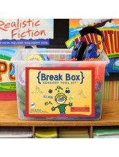 Great for classrooms and clinics, use a Break Box to prevent disruptive behavior by integrating the sensory motor activities throughout the day.