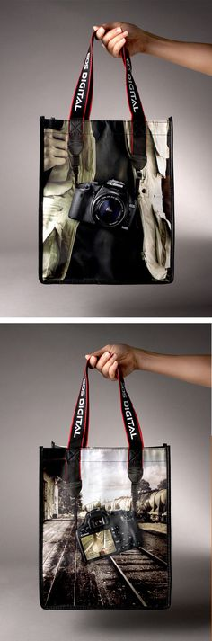 Canon EOS 500D Hand Bag - #ambient #advertising