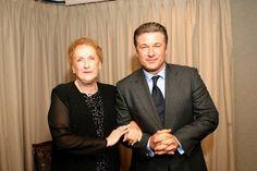 Alec Baldwin with mother Carol M. Baldwin