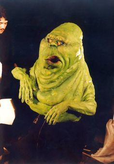 Check out our archive of photos from Steve Johnson who worked on Slimer for #Ghostbusters