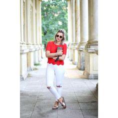 RED & WHITE by Aline Kaplan