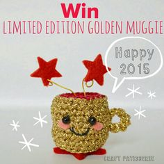 golden muggies limited edition giveaway. Happy new year bt craftpatisserie