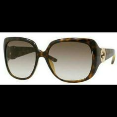 Gucci sunglasses Super cute and classy. Worn a few times. I have the box, case and cards. 100% authentic. Reduced!  Please ask any questions you may have!! Gucci Accessories Sunglasses