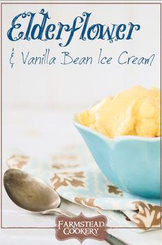 Elderflower & Vanilla Bean Ice Cream