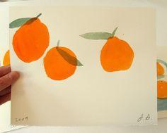 Orange pattern - Jamie Shelman