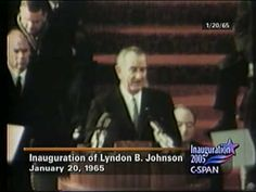 JK NOTE: LBJ went on to win the election and deliver his inaugural address in January The action in Missing You in Atlantic City continues on that day. Inaugural Speech, Famous Speeches, Democratic National Convention, Atlantic City, Miss You, Presidents, 1960s, January, Politics