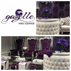 Check out One of Perth's luxurious Nail salon! Get your nail services done in style located in Perth Subiaco @gazelle_naillounge will make sure your well looked after using the best products in the business  #nailsalons #perthnails #youngnails #gazellenaillounge #luxury #nailart #gelpolish #pronail_essentials