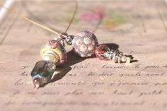 Avril Paris Shabby Chic Bookmark by EarmarksandBookmarks on Etsy, $25.00