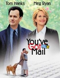 A book store, a love story, New York City, Meg Ryan and Tom Hanks. I love Tom Hanks & Meg Ryan movies. I could (and do) watch every year. Beau Film, Best Romantic Comedies, Romantic Movies, Chick Flicks, See Movie, Film Movie, Comedy Movies, Horror Movies, Old Movies