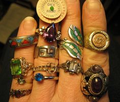 rings by fiveanddiamond, via Flickr