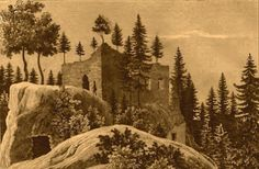 """Naturwunder ...: Chudyhradek (""""Schlechte Burg"""") bei Sebitsch im Grü..."""