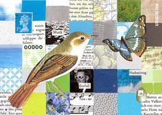 Alle Vögel sind schon da Collage