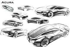Acura Sketches on Behance