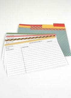 Recipe cards, Cards and Recipe on Pinterest