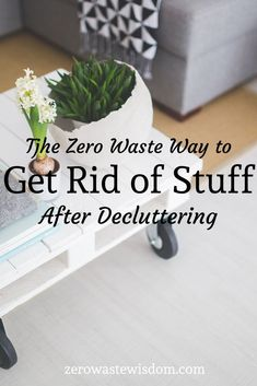 Although I highly encourage you to clean out your house and pair down your belongings, that doesn't mean I think they should all go in the trash! Instead, use this guide to find ways to donate, rehome, and recycle items back into your community. Reduce Waste, Zero Waste, Minimalist Living, Minimalist Lifestyle, Declutter Your Home, Konmari, Sustainable Living, Natural Living, Organization Hacks