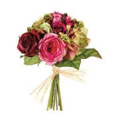 Rose, Hydrangea and Mixed Rose Bouquet $39.99 by Wayfair