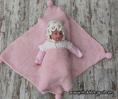 Giyilebilir bebek battaniyesi yapılışı - Wearable Blanket Baby DIY