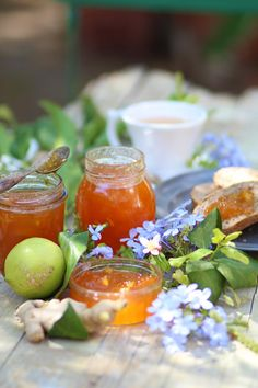marmellata-melone-limone-zenzero-una ricetta di racconti di cucina
