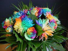 Flores bonitas: interesantes ideas para decoración Ve más fotos en IDEASdeEVENTOS