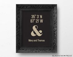Housewarming Gift, Wedding Gift Print by BlackstarPress