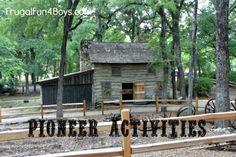 pioneer activities