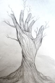 Nature Drawing | hybrid nature by fatalxframe traditional art drawings surreal 2011 ...