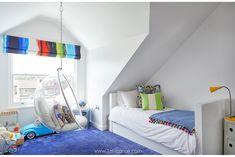 Casinha colorida: Uma casa enorme e colorida