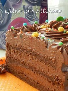Bakery Recipes, Cupcake Recipes, Cupcake Cakes, Dessert Recipes, Cake Cookies, Rodjendanske Torte, Magic Custard Cake, Torte Recipe, Kolaci I Torte