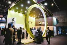 The video intelligence stand at Mobile World Congress 2017.