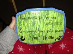 Print in cool fonts onto scrapbook paper and modpodge onto a wooden plaque! Sorority crafting