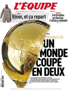 L'Équipe - Mardi 10 Janvier 2017 - N° 22818