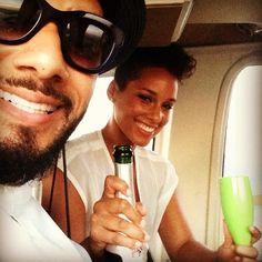Marido de Alicia Keys posta vídeo da cantora no Rio - http://epoca.globo.com/colunas-e-blogs/bruno-astuto/noticia/2013/09/marido-de-balicia-keysb-posta-video-da-cantora-no-rio.html (Foto: reprodução Instagram)