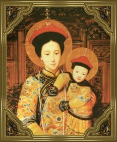 the Madonna and Child, Chinese-style