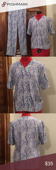Sophisticates by Pendleton women's pantsuit. Sophisticates by Pendleton women's pantsuit, very nice condition. Other