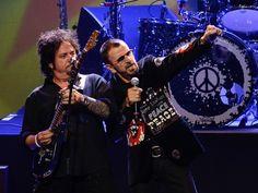 Ringo Starr se apresentou em São Paulo nesta terça-feira (29) no Credicard Hall. (Foto: Flavio Moraes/G1)