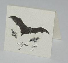 Bat Natural History Earrings
