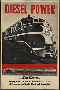 Diesel power by Boston Public Library, via Flickr