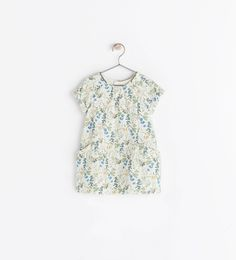 ZARA - COLLECTION AW14 - EMBROIDERED APPLIQUE DRESS