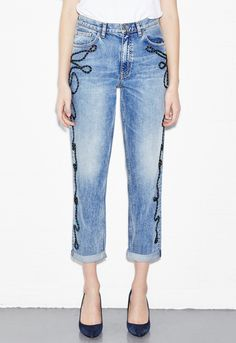 Mih jeans Linda Jean in Blue (Niner Wash)