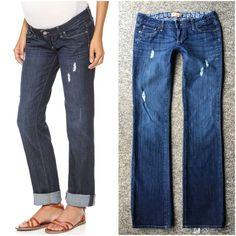 b94bc12706ae6 Paige Denim Maternity Jeans Jimmy Jimmy Boyfriend Size 27 #PaigeMaternity  #MaternityJeans #BoyfriendJeans #RippedJeans #PaigeDenim  #OnlineThriftBoutique