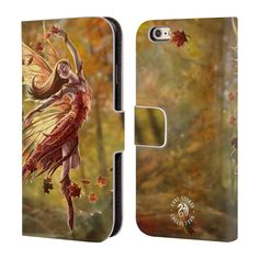 OFFICIAL-ANNE-STOKES-FAIRIES-LEATHER-BOOK-WALLET-CASE-FOR-APPLE-iPHONE-PHONES