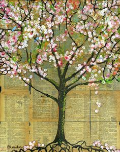 Nature Art Landscape - Lexicon Tree Painting  - Nature Art Landscape - Lexicon…