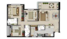 Prisma Residencial Clube - Lançamentos - Empreendimentos - Diagonal Engenharia