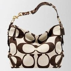 I will admit that I am a purse-aholic! Any high-end brand will do, but Coach is a definite favorite!