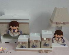 Kit higiene - boneca de trancinha