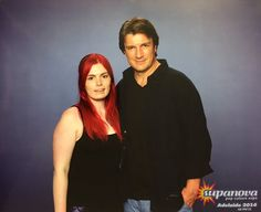 Jessica Coldwell ‏@Cutejess2407    @NathanFillion Thankyou for meeting me this weekend. Loved your panel and talking to you 😊  Adalaide, Australia  Nov 18-19, 2016 #NathanFillion #SupanovaExpo #Adelaide #Buffy
