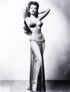 Sherry Britton 1940's burlesque dancer
