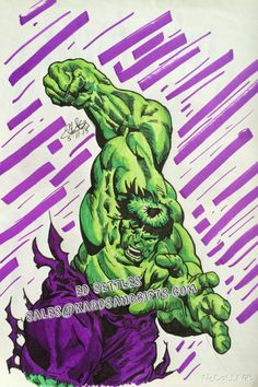 Hulk is a registered trademark of Marvel comics. The Incredible Hulk is one of the most recognizable and beloved characters of all time! Hulk is seen here with all his super human strength and rage. T